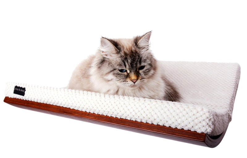 Półka dla kota CHILL -- CHILL cat shelf  -- Katzenliege CHILL