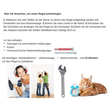 Katzenliege CHILL DeLuxe - Kissenstoff TWEED