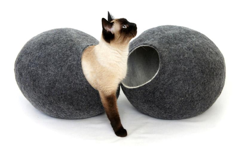 Kokon KIVIKIS -- KIVIKIS cat cave -- KIVKIS Katzenhöhle