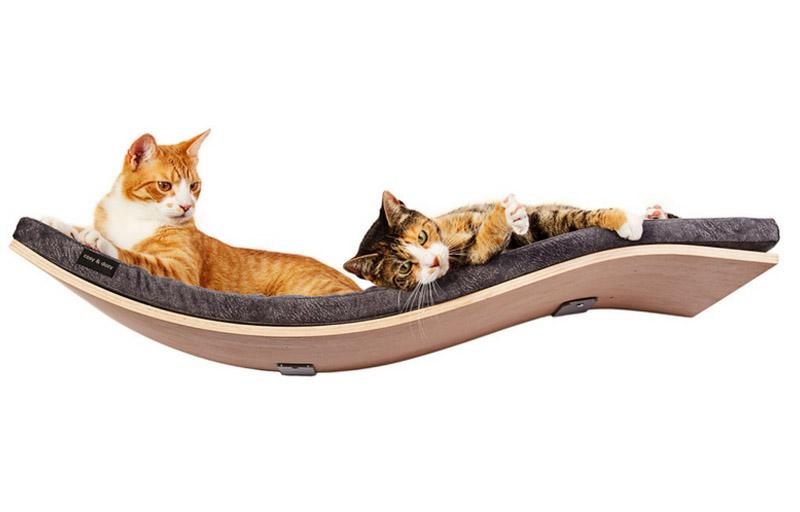 Półka dla kota CHILL DeLuxe -- CHILL DeLuxe cat shelf  -- Katzenliege CHILL DeLuxe